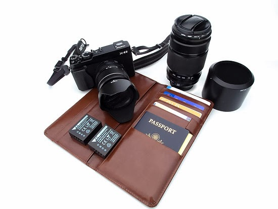 My Fuji X-E2 travel kit