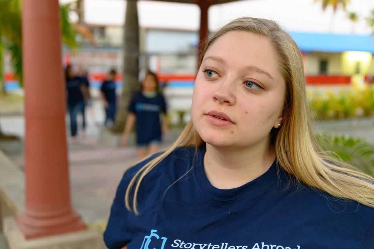 Storyteller Hannah Dunlap: Simple Service