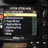 Nikon D5: Sports Camera Settings
