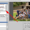 How to identify people in large group photos and projects